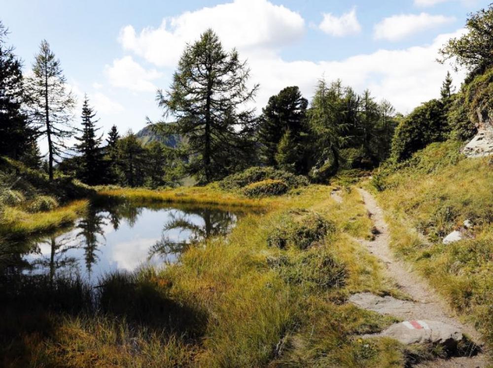 Sentiero dei laghi della Val Piora / Ritom